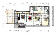 一階平面図の写真